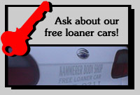 Ask about our free loaner cars!